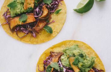 Vegan Oyster Mushroom Tacos